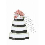Bridal Shower Invitations, Wedding Cake, Stevie Streck