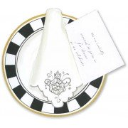 Dinner Invitations, Place Setting, Stevie Streck