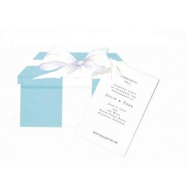 Bridal Shower Invitations, Tiffany Ring Box, Stevie Streck