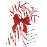 Christmas Invitations, Candy Cane Bouquet, Stevie Streck