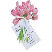 Tulip Invitations, Pink Tulips, Stevie Streck