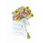 Floral Invitations, Bouquet of Flowers