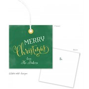 Christmas Gift Tags, Watercolor Christmas, Take Note Designs