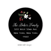 Christmas Return Address Labels, Joyous, Take Note Designs