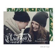 Christmas Digital Photo Cards, Enchanted Christmas, Take Note Designs