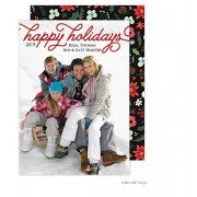 Christmas Digital Photo Cards, Happy Holidays Overlay, Take Note Designs