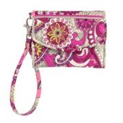 Vera Bradley Super Smart Wristlet, Paisley Meets Plaid