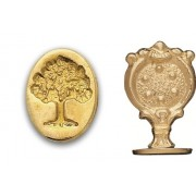 Wax Seal Stamp - Oak Tree Tree of Life