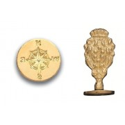 Wax Seal Stamp - Compass