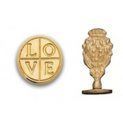 Wax Seal Stamp, Love Cross