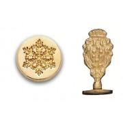 Wax Seal Stamp, Snowflake