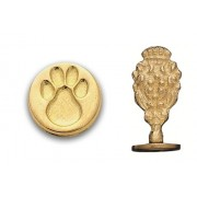 Wax Seal Stamp, Paw Print
