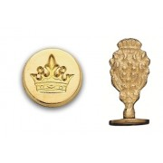 Wax Seal Stamp, Crown