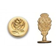 Wax Seal Stamp, Rose