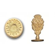 Wax Seal Stamp, Sunflower