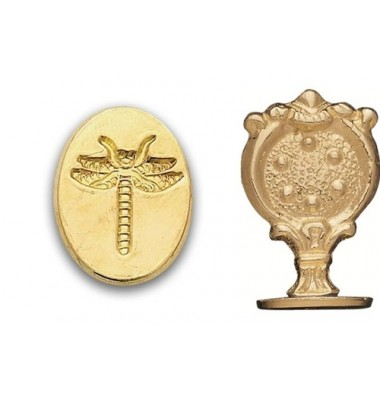 Wax Seal Stamp, Dragonfly
