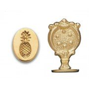 Wax Seal Stamp, Pineapple