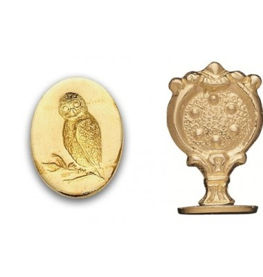 Wax Seal Stamp, Owl