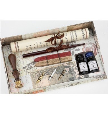 Deluxe Wax Seal & Writing Set, Freund Mayer