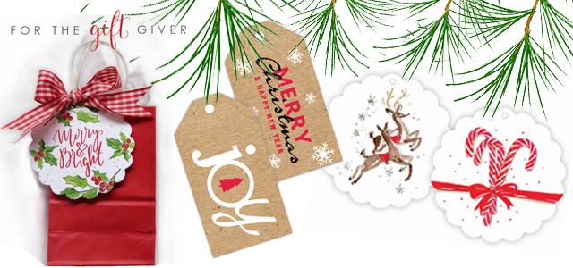 Gift Enclosurers-Tags