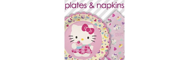 Paper Plates and Napkins