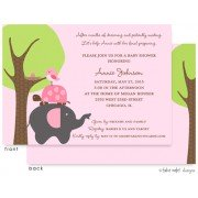 Baby Shower Invitations, Patiently Waiting Girl, take note! designs