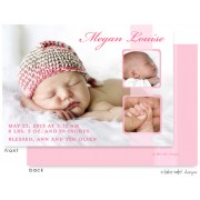 Birth Announcements, Megan Louise, take note! designs