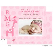 Birth Announcements, Rachel Grace, take note! designs