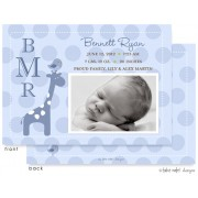 Birth Announcements, Bennett Ryan, take note! designs