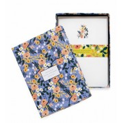 Violet Floral Stationery Set, Rifle