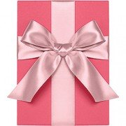 Double Face Satin Ribbon, Blossom, Waste Not Paper