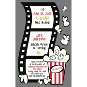 Movie Invitations, Movie Time, Printswell