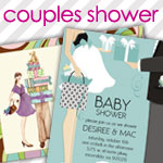 Couples Baby Shower Invitations