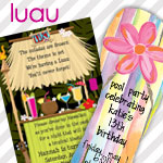 Luau Invitations