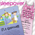 Sleepover Invitations