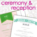 Ceremony & Reception Cards